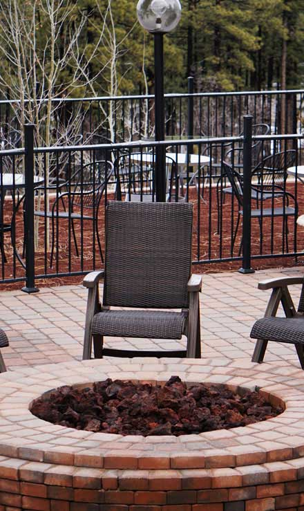 Evergreen Lawncare and Landscape Inc. Outdoor Fire Pits