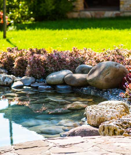 Evergreen Lawncare and Landscape Inc. Residential Water Features